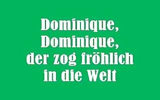 singing nun - dominique