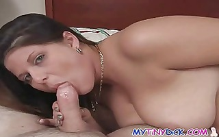 large boobs get down on a tiny dick