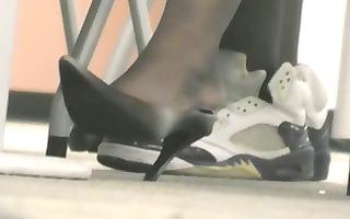 mature charming feet &; heels