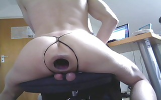 extreme gaping monster cunt gap and ball torture