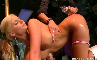 super hawt undressed blonde honey in the club