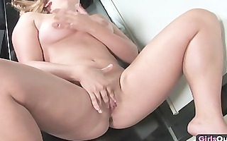 sinful lesbo masturbation